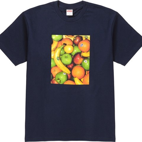 ed229c7c @effect_of_excess. 9 days ago. Shoreline, United States. Supreme Fruits tee  in navy. SS19. New deadstock ...