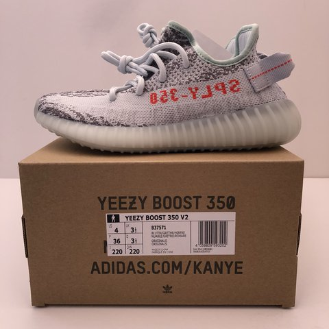 "e6719eb1b Brand new deadstock Adidas Yeezy 350 V2 ""Blue Tint"" Size"