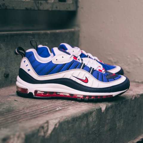 info for 3a8c5 9ea9b @chrisdodd. last year. Manchester, United Kingdom. Nike Air Max 98 'Gundam' Size  9.5 ...
