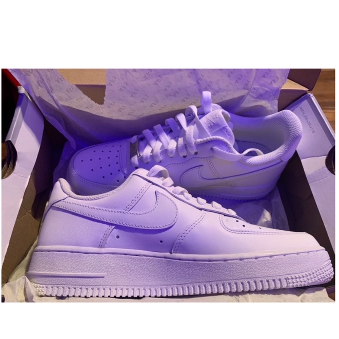 """NIKE AIR FORCE 1's ( All white ) """"G"""