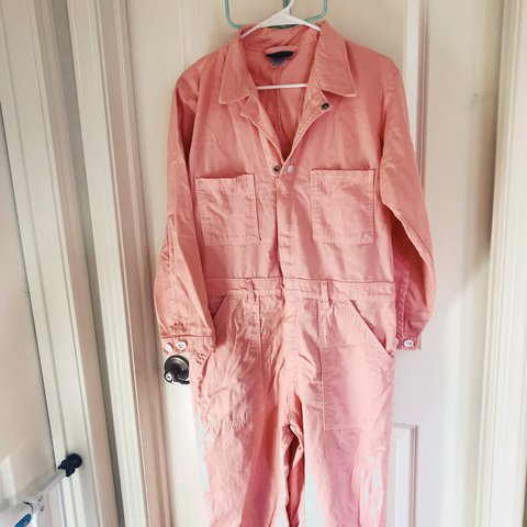 7ef4cbbaa4b BIG BUD PRESS EVERYDAY JUMPSUIT-PINK PURCHASED FROM THE SIZE - Depop