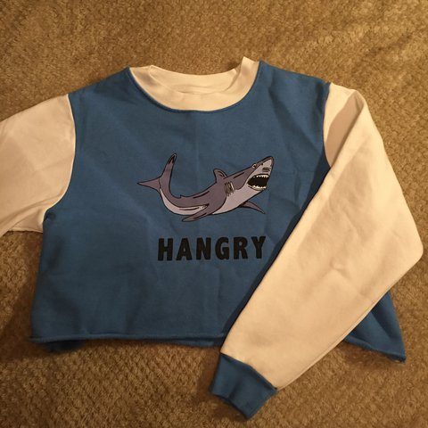 8e7df02568f4 Cute unusual topshop hangry cropped jumper