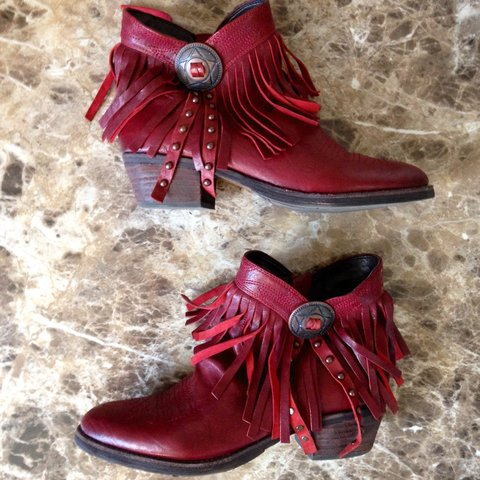 6970d441a1dae Sam Edelman Sidney fringe boot in a 7. Sold out everywhere