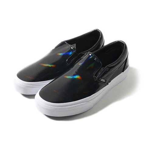 black holographic vans women s 10.5 e0abd016a