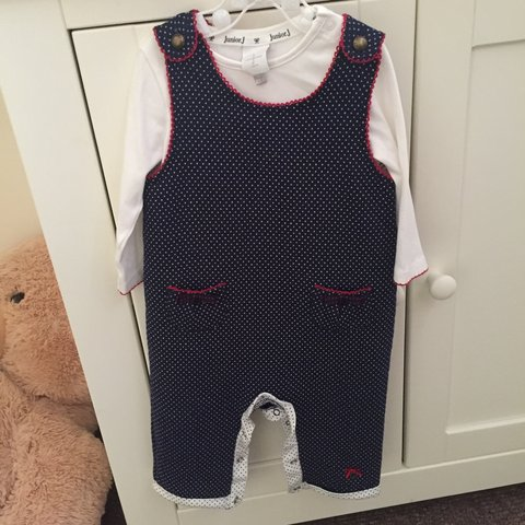 760609422 Junior J Jasper Conran baby girl outfit with lings sleeved x - Depop