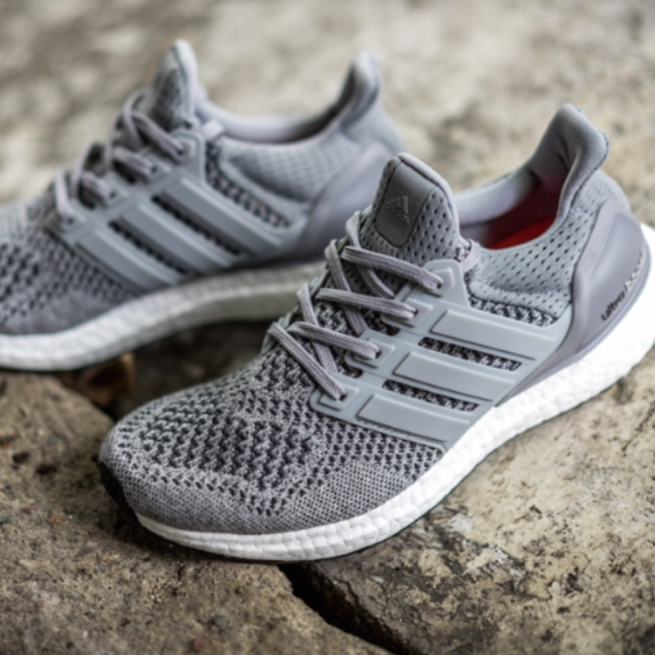 watch 82366 a9395 Adidas ultra boost wool grey. Brand new. Womans sizing ...