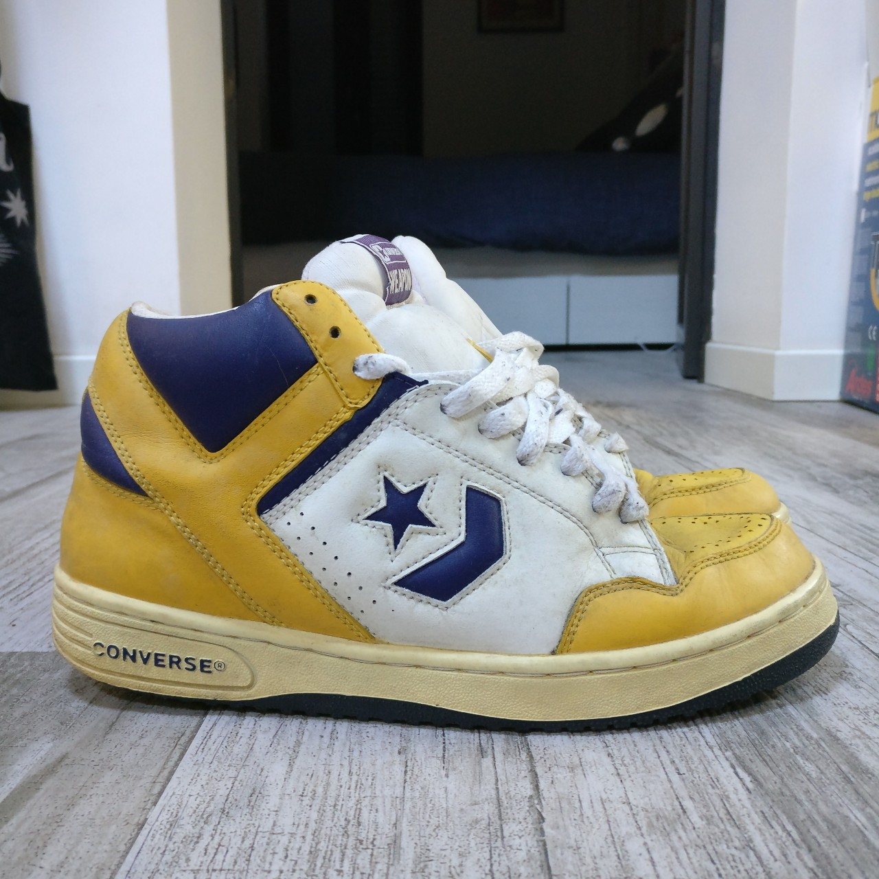 Converse Weapon 86 Lakers edition