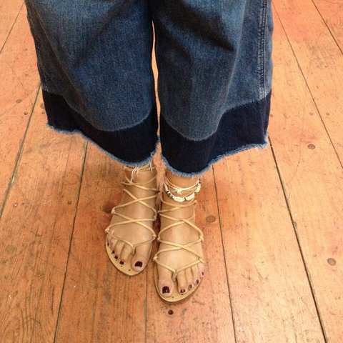 d5ebe5730 Zara mid calf gladiator sandals. From the summer collection