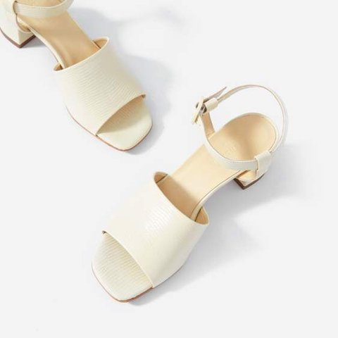 18ede5182ae Everlane block heel sandals 👡👡👡 in really great only worn - Depop