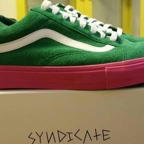 47c623e334e3 Tyler The Creator THE Odd Future x Vans Syndicate Old Skool - Depop