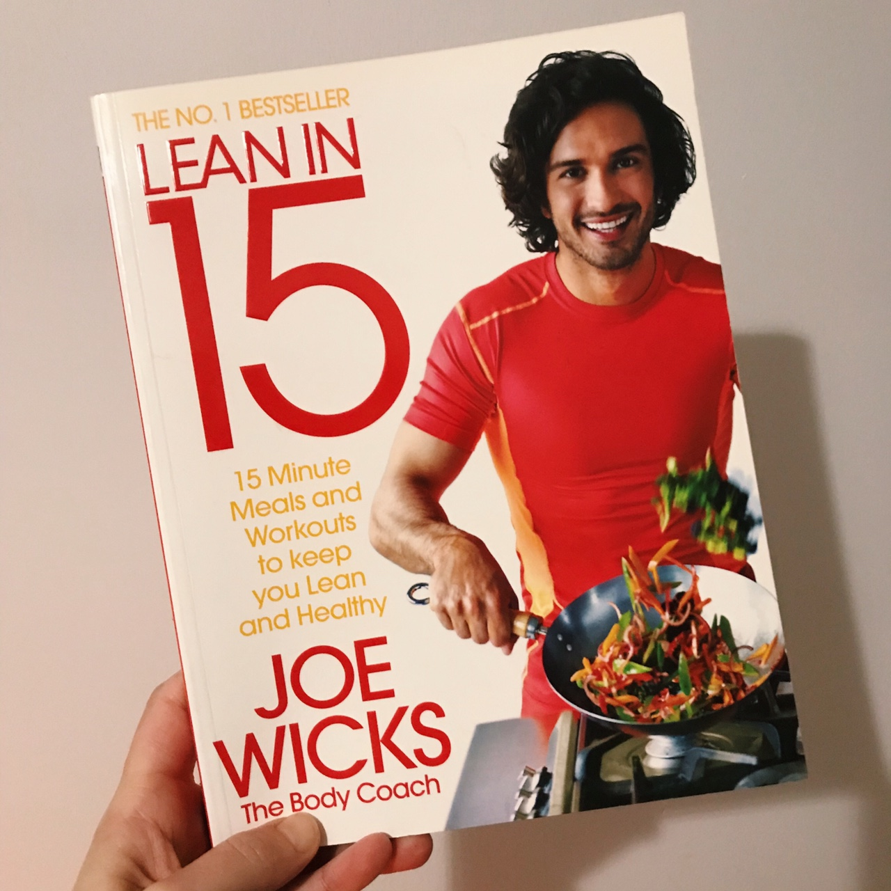 Joe Wicks Lean In 15 Cook Book In Perfect Depop