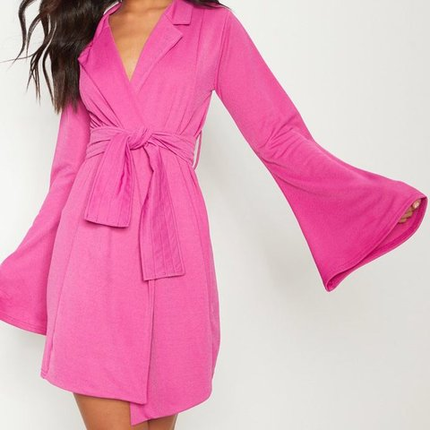 9be9fa447d2b @jenoraboutique. 2 months ago. London, United Kingdom. Fuchsia blazer dress.  Size 8. Worn twice