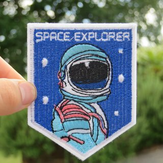 Large Space Explorer iron on/ sew on patch  Would    - Depop