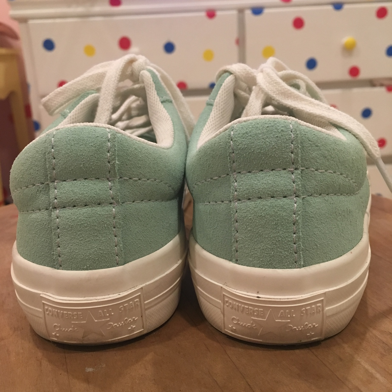 Converse One Star size 2.5 I wear a size 5 5.5 and Depop