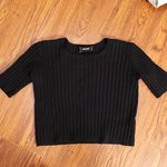 be9efcdf309 Windsor ribbed tube top with sleeves. Small. Little pilling - Depop