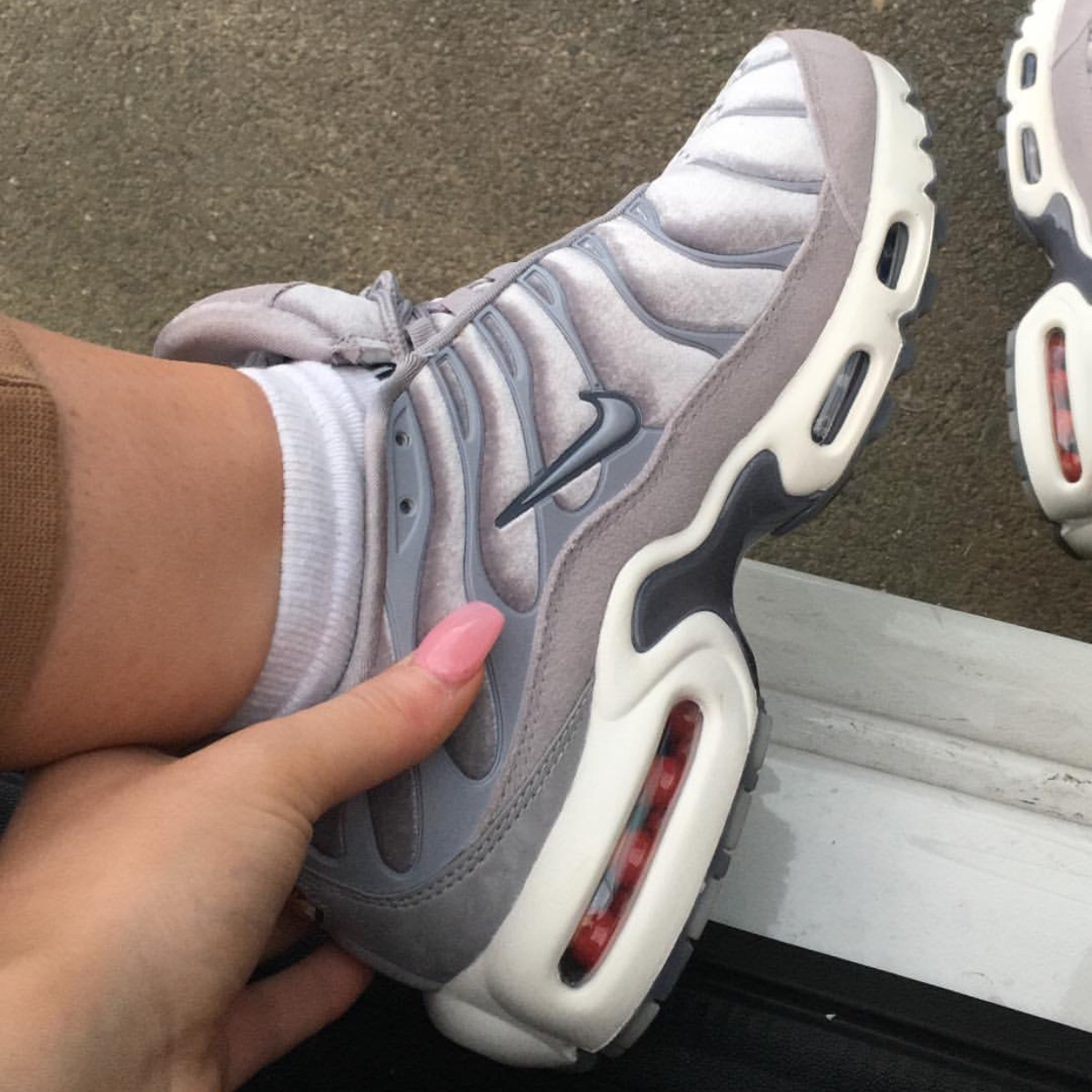 huge selection of 77e49 0031b Grey velvet tns / Nike tuned / air max plus LX... - Depop