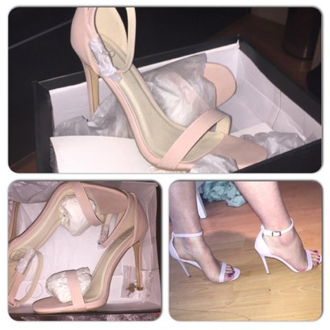 00bd410bcaf Miss guided pale pink nude Strappy sandals. Brand new in the - Depop