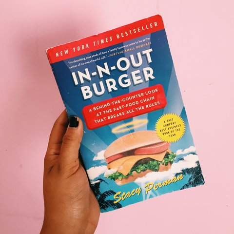 In N Out Burger by Stacy Perman  Mmmm read this next    - Depop