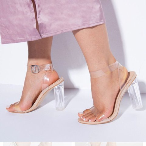 Ego brand clear heels. Ariana Perspex heels will make you at - Depop