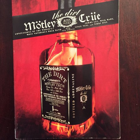 The Dirt Motley Crue Book