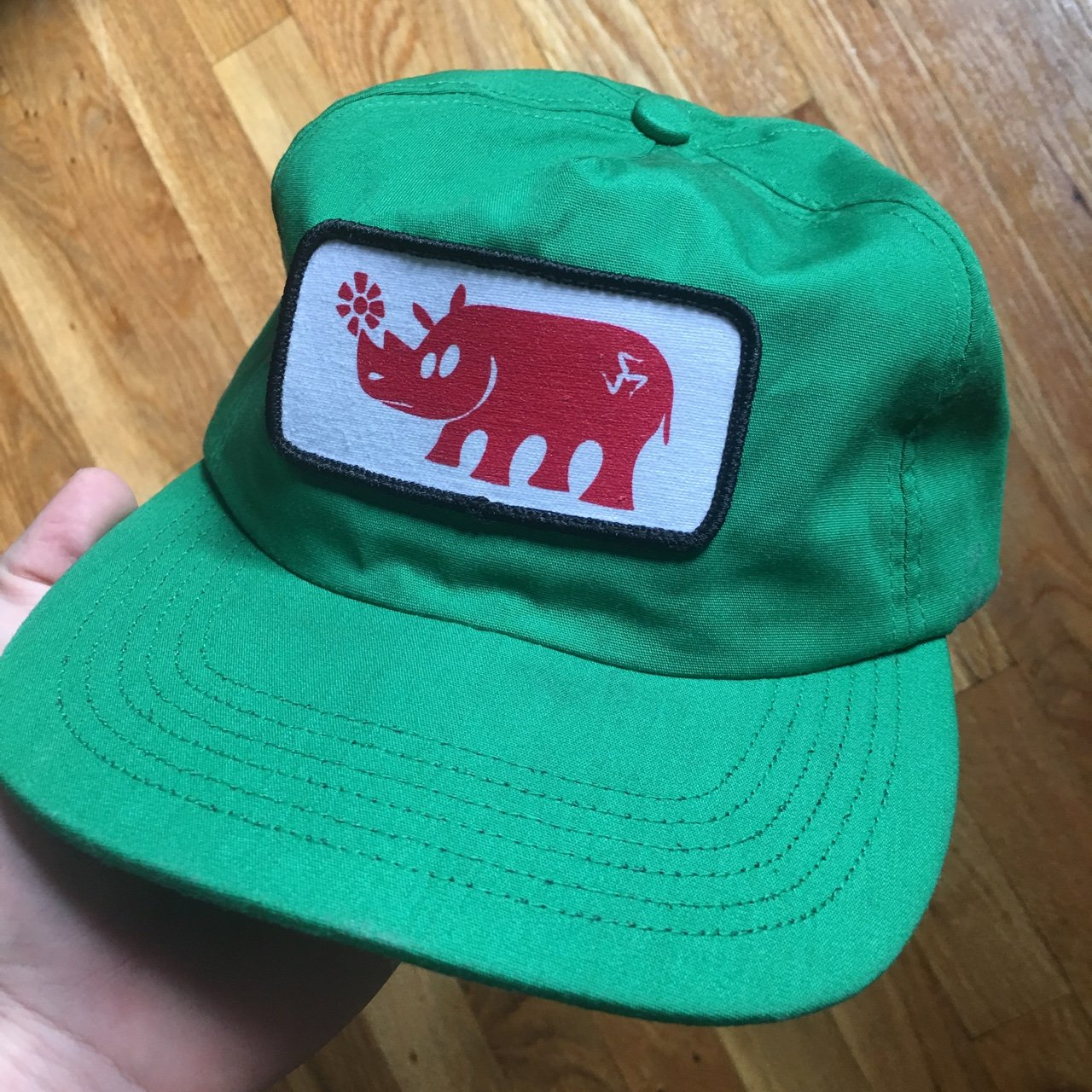 49ba5a660bd Call Me 917 SnapBack. Green. Made in USA. Worn once. supreme - Depop