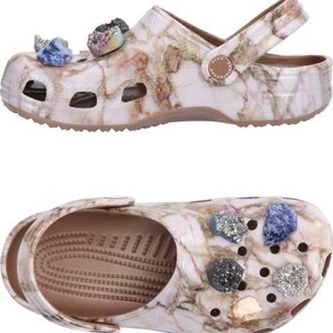 61992ac3d7225 Christopher Kane Crocs Collaboration. Marble pattern with I - Depop