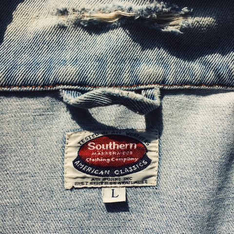 Southern Denim jacket  Great condition (only the    - Depop