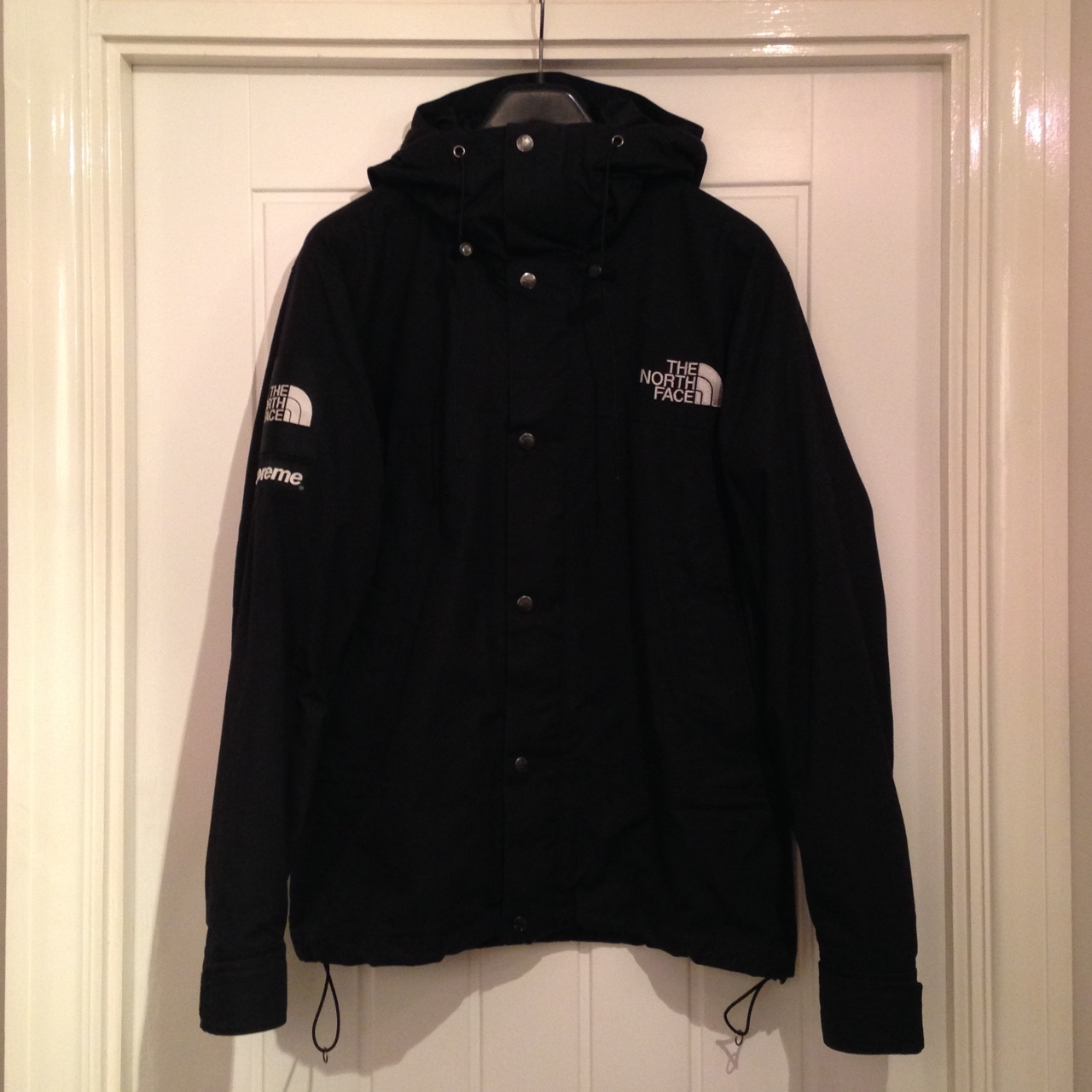9a7c58650 Rare 2010 Supreme x The North Face Waxed Mountain... - Depop