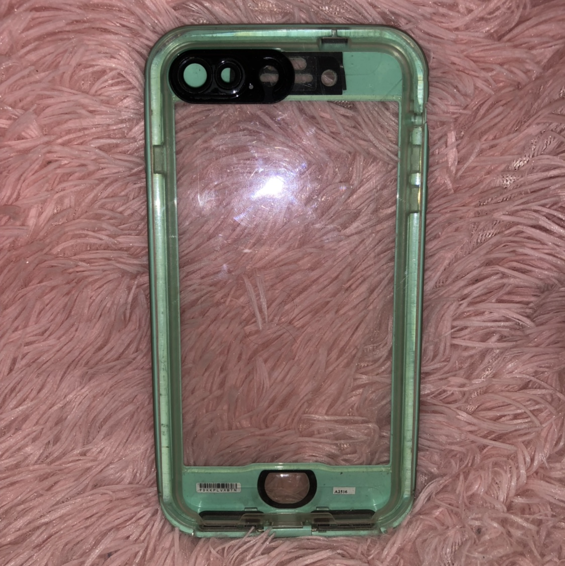 hot sales 5bca6 f3d86 Fake lifeproof case. iPhone 8 Plus! $2 - Depop