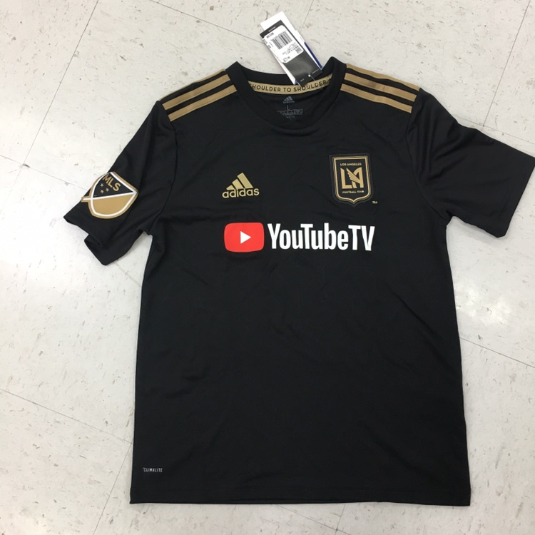 LAFC adidas jersey very clean embroidery! Size large    - Depop