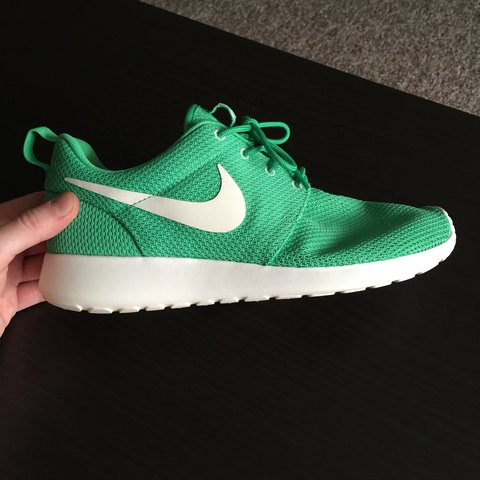f19dba6bc2d7 Nike Roshe Run. Dead stock item in rare gamma green These on - Depop