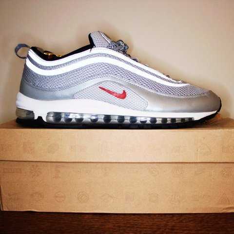 d7205711ab For sale with regret are my air max 97 OG silver bullets EM. - Depop