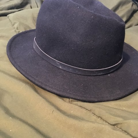 174c9a73a3a8e Black hat fedora! Originally from Urban Outfitters