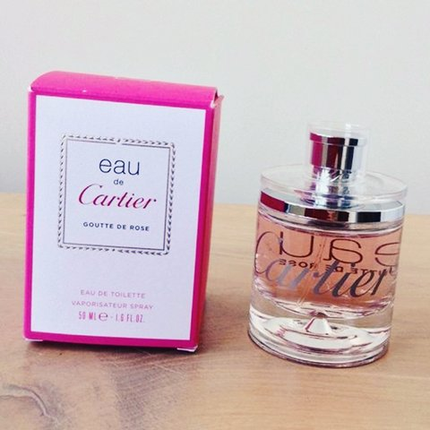 Cartier Goutte De Rose Eau De Parfum 30ml With Box Brand Depop