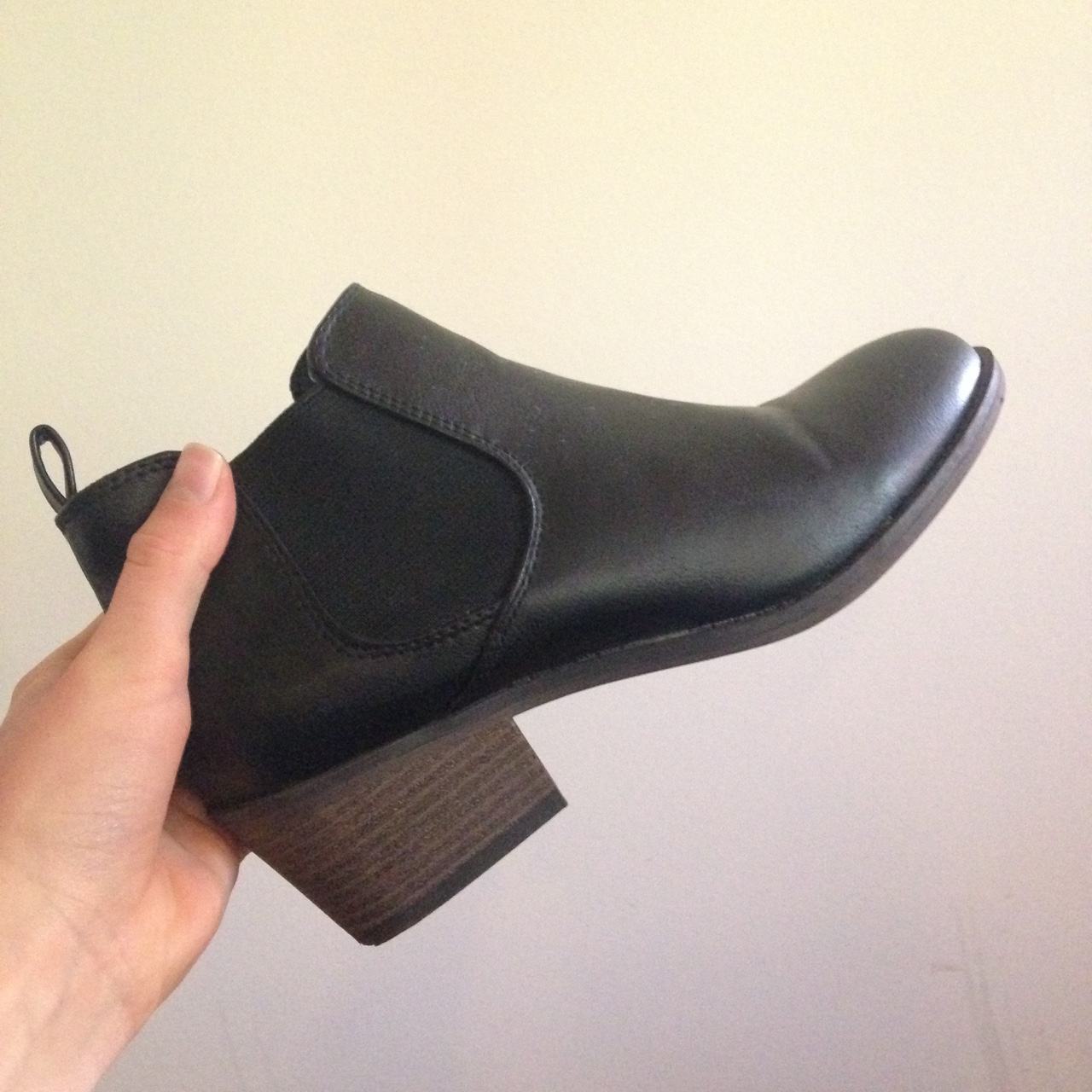 Kmart ankle boots with slight heel
