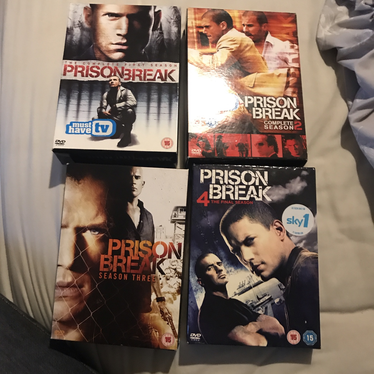 Complete Prison Break 4 Seasons Selling Depop