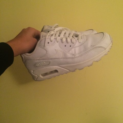 c0fe1e4b61 AIR MAX WHITE for WOMEN. Its been worn about 5 times max. US - Depop