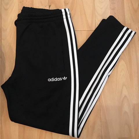 fd67bd88367e ADIDAS ORIGINALS ITASCA TRACK PANTS IN BLACK AND WHITE - - - - Depop