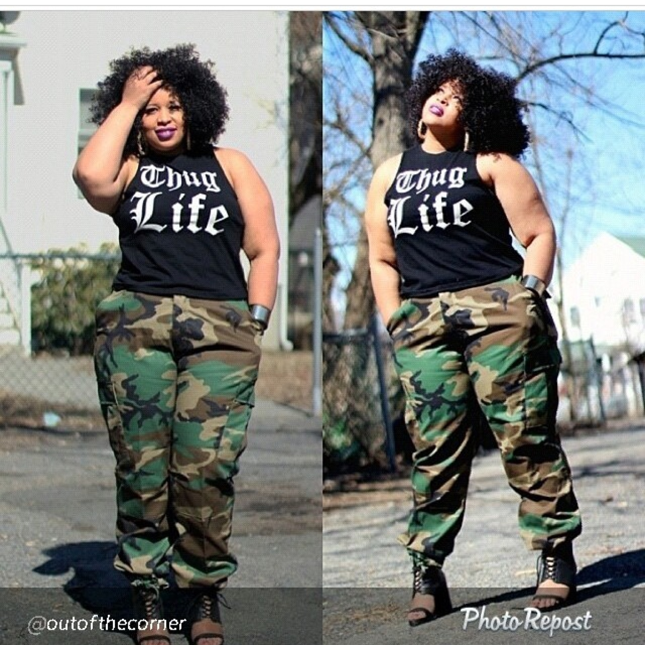 Plus size army fatigue pants. Sizes large to. 4x - Depop