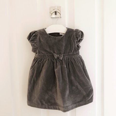 58bb3af74 @jodiewheeler. last year. Epping, United Kingdom. Baby girls little white  company grey dress . 3-6 months .