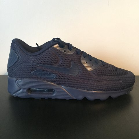 11675f6c4eb4 Nike air max 90 ultra BR breathe    Navy    Size UK 9    1 1 - Depop