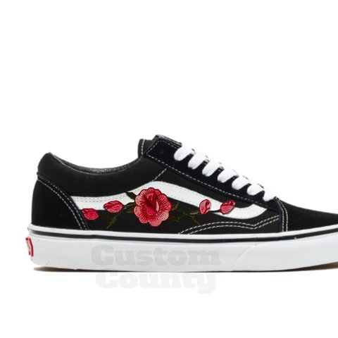 b23211e494 🌹Check Out My Shop For Other Colors🌹 Vans Rose Shoes Soft - Depop