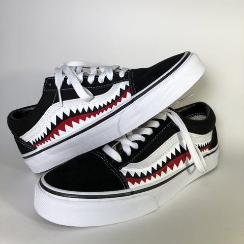 1d116b28138e Vans old skool custom Brand new old skool vans custom. 7 I - Depop