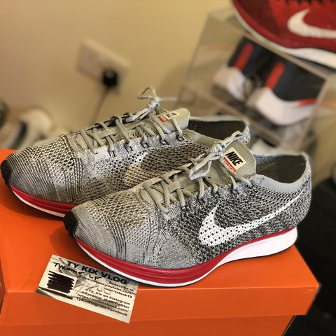 """uk availability 5faad d79ff  tyronne lf. last year. Coventry, United Kingdom. NIKE FLYKNIT RACER """"NO  PARKING"""" ..."""