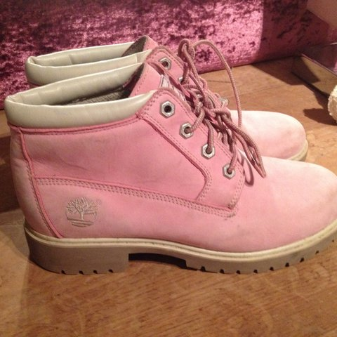 cde7bdd92f @vintageamy. 4 years ago. London, United Kingdom. Genuine pink timberland  boots for sale.