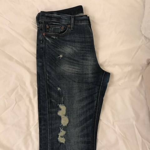 74b250cd1fe @alomme. 2 years ago. London, United Kingdom. Uniqlo brand new without tags  distressed jeans