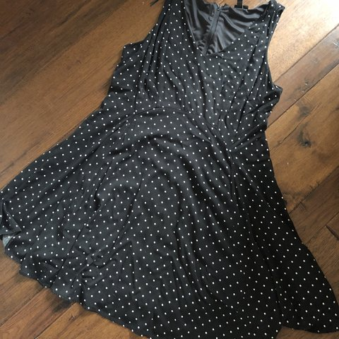 Plus size polka dot dress Torrid size 14 Worn once - Depop