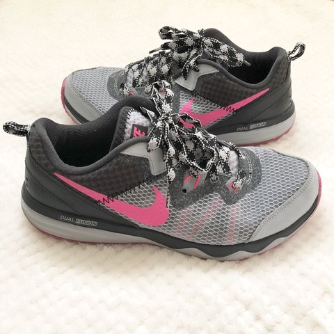 e7f939f660b  guccinay. 10 months ago. United States. Nike Dual Fusion Trail Running  Shoes Women s size 8.5. No box ...