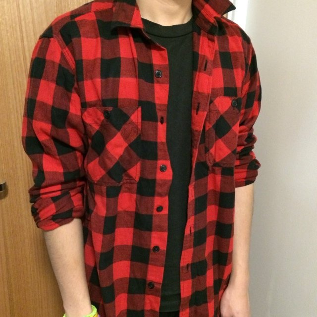 Black And Red Shirt For Men
