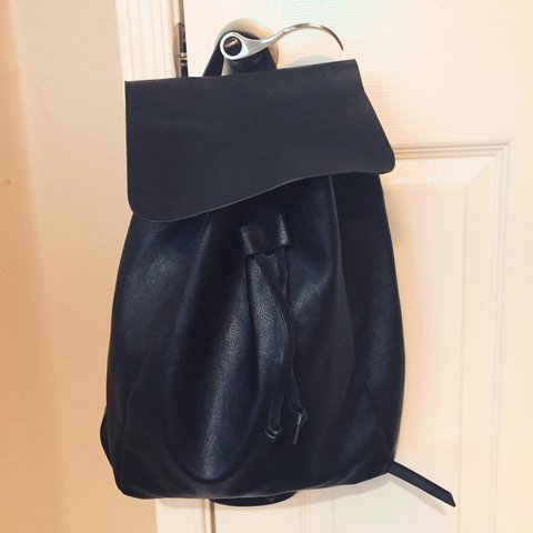 8cd3566529eb Little black backpack from H M. Never used - Depop